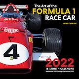 Art of the Formula 1 Race Car Calendar